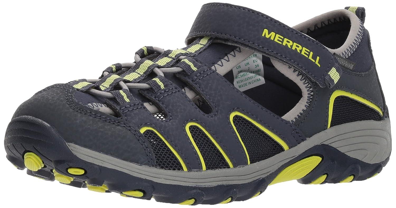 Merrell Mauml;dchen ml Hydro H2o Aqua Schuhe  18 EU Breit Kleines Art Blue-mc