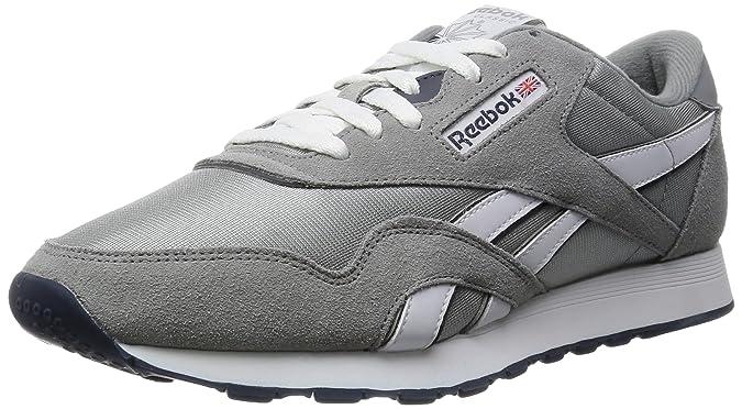 Reebok Adulte NylonSneakers Classic Basses Mixte m0Nwv8On