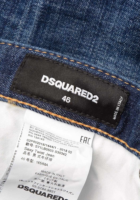 Amazon.com: DSQUARED2 -S71LB0503 - Pantalón vaquero de ...