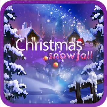 Christmas Snowfall Live Wallpaper