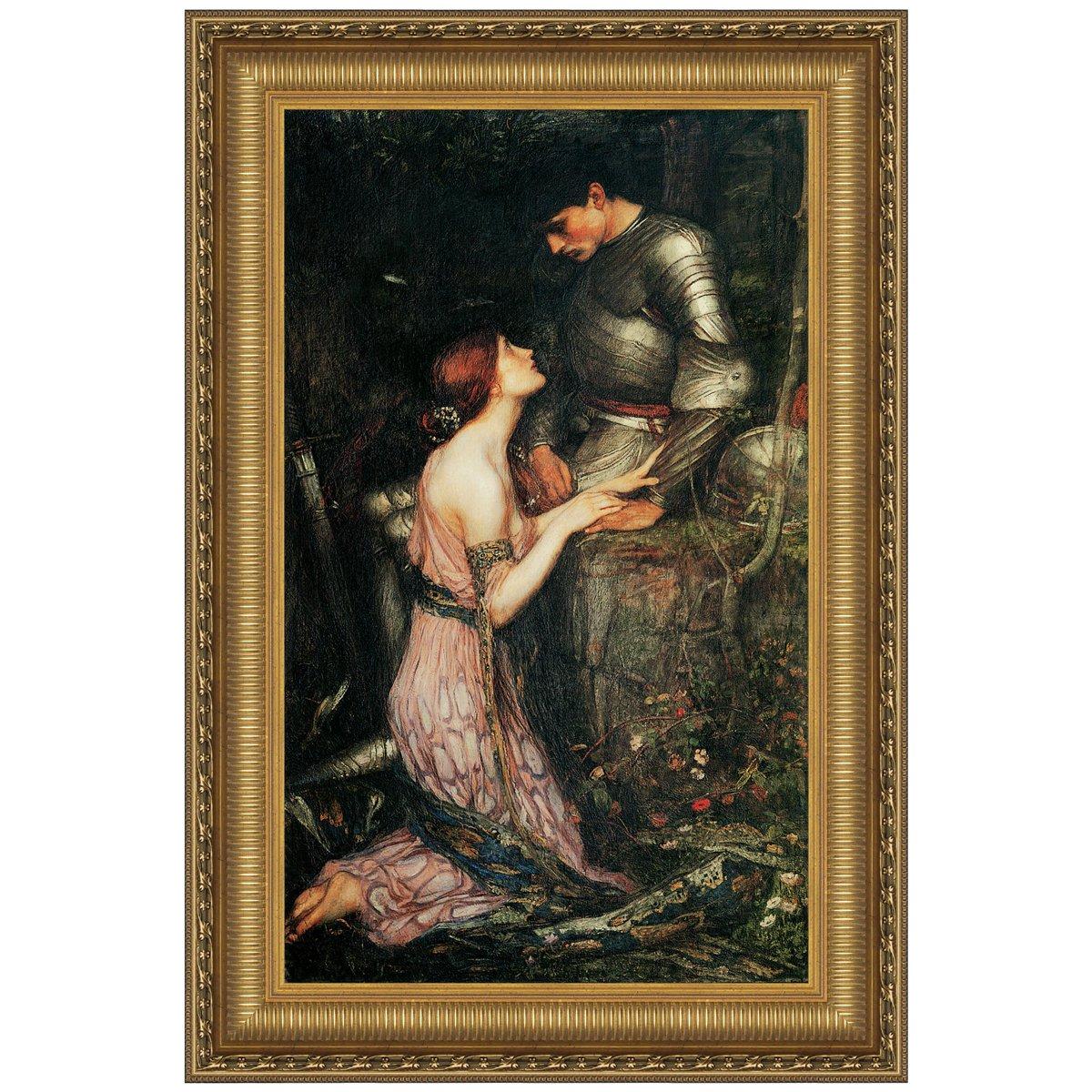Design Toscano Lamia, 1905, Canvas Replica Painting: Grande