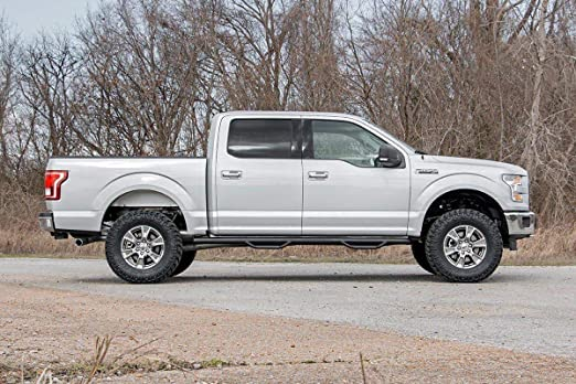 Lifted Ford F150 >> Rough Country 54530 Bolt On Lift Kit With Shocks For 14 18 Ford F 150 4wd