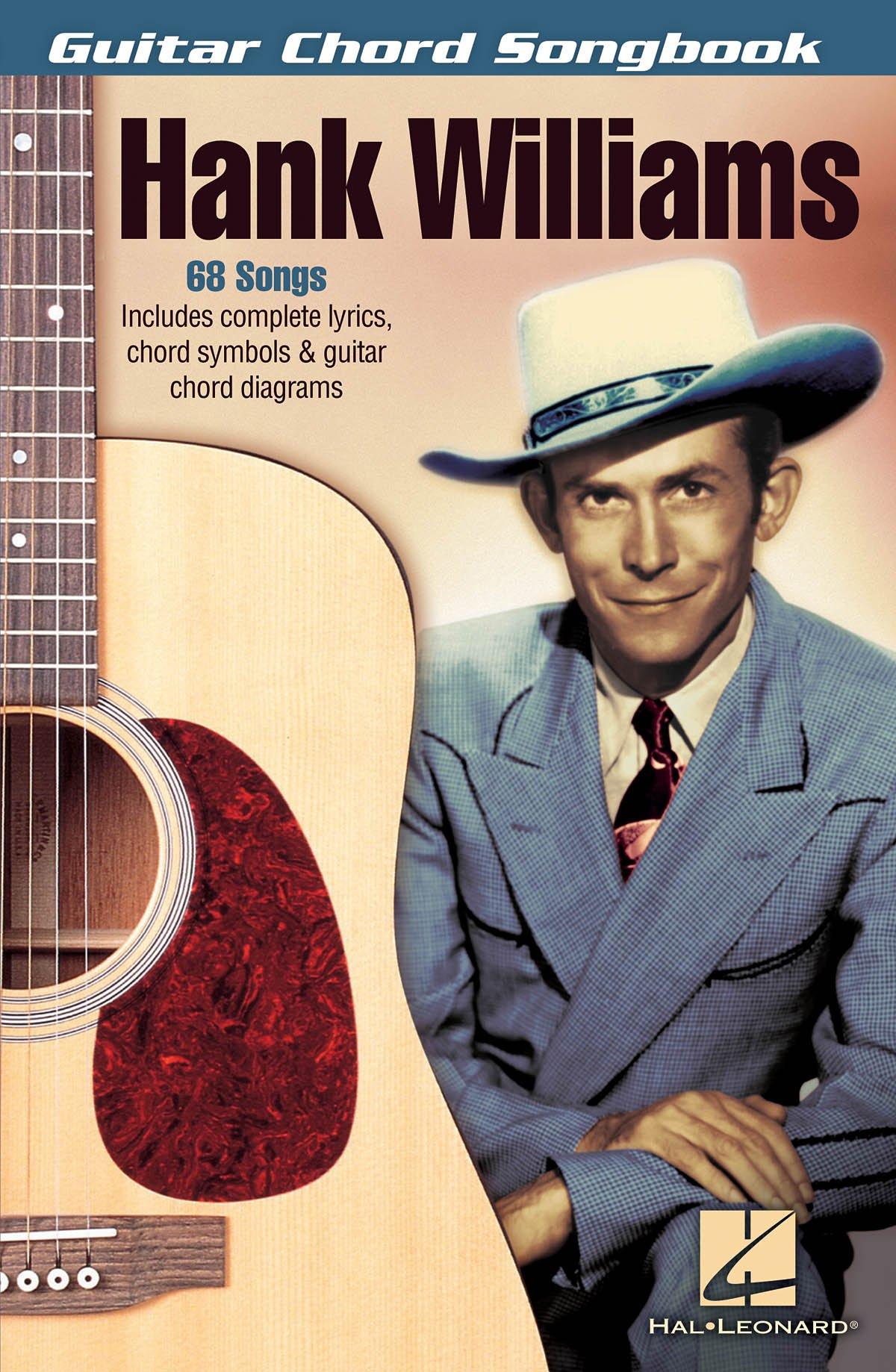 Amazon Hank Williams Guitar Chord Songbook 0884088219376