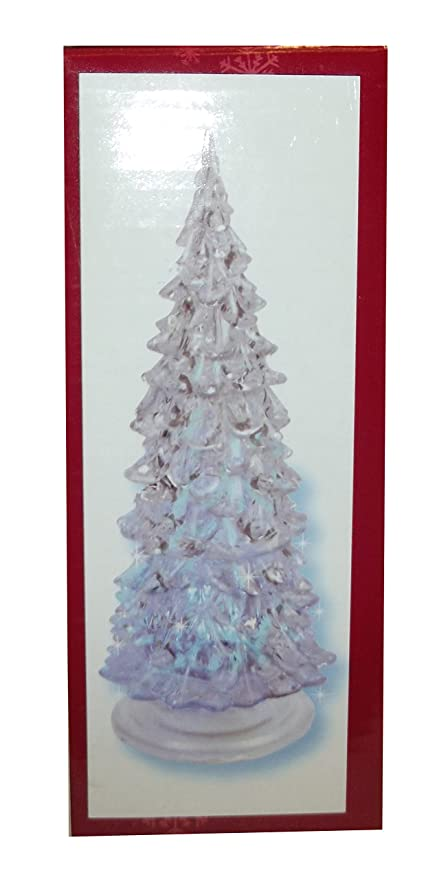 ganz light up small acrylic christmas tree