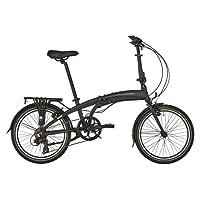 Ortler London One Folding Bike black 2018 folding bike 7 speed