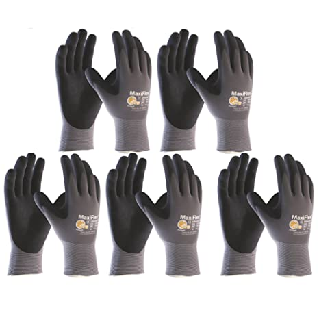 60% günstig suche nach dem besten Shop für echte ATG Schutzhandschuhe MaxiFlex Ultimate; Größe 9; Inhalt: 5 Paar, 10 Stück  Arbeitshandschuhe