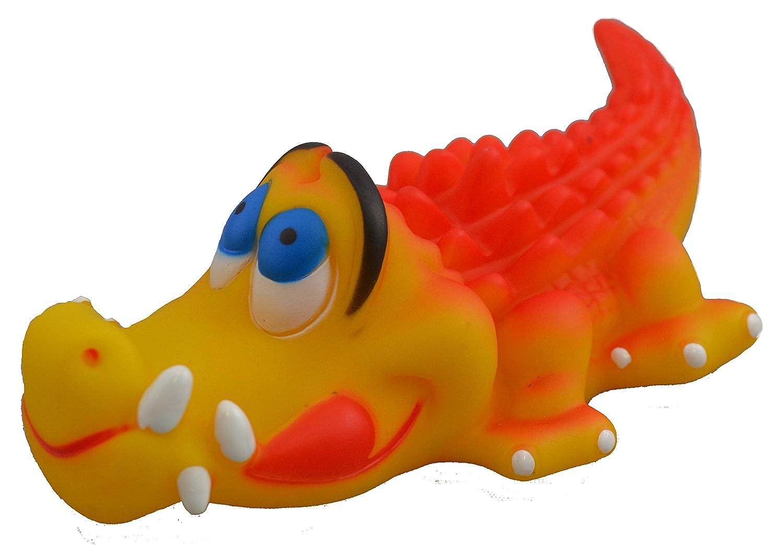 Vinyl Alligator 6-Inch Vinyl Alligator 6-Inch Amazing Pet Products Dog Vinyl Squeak Toy, Vinyl Alligator, 6-Inch