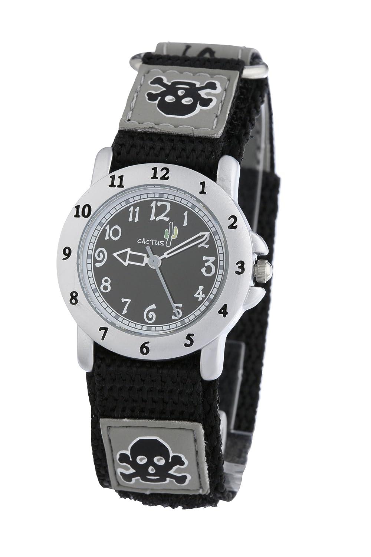 M14 Correa Cac Cuarzo Reloj Cactus Analógico De Con Textil 30 4Aqc5RjLS3