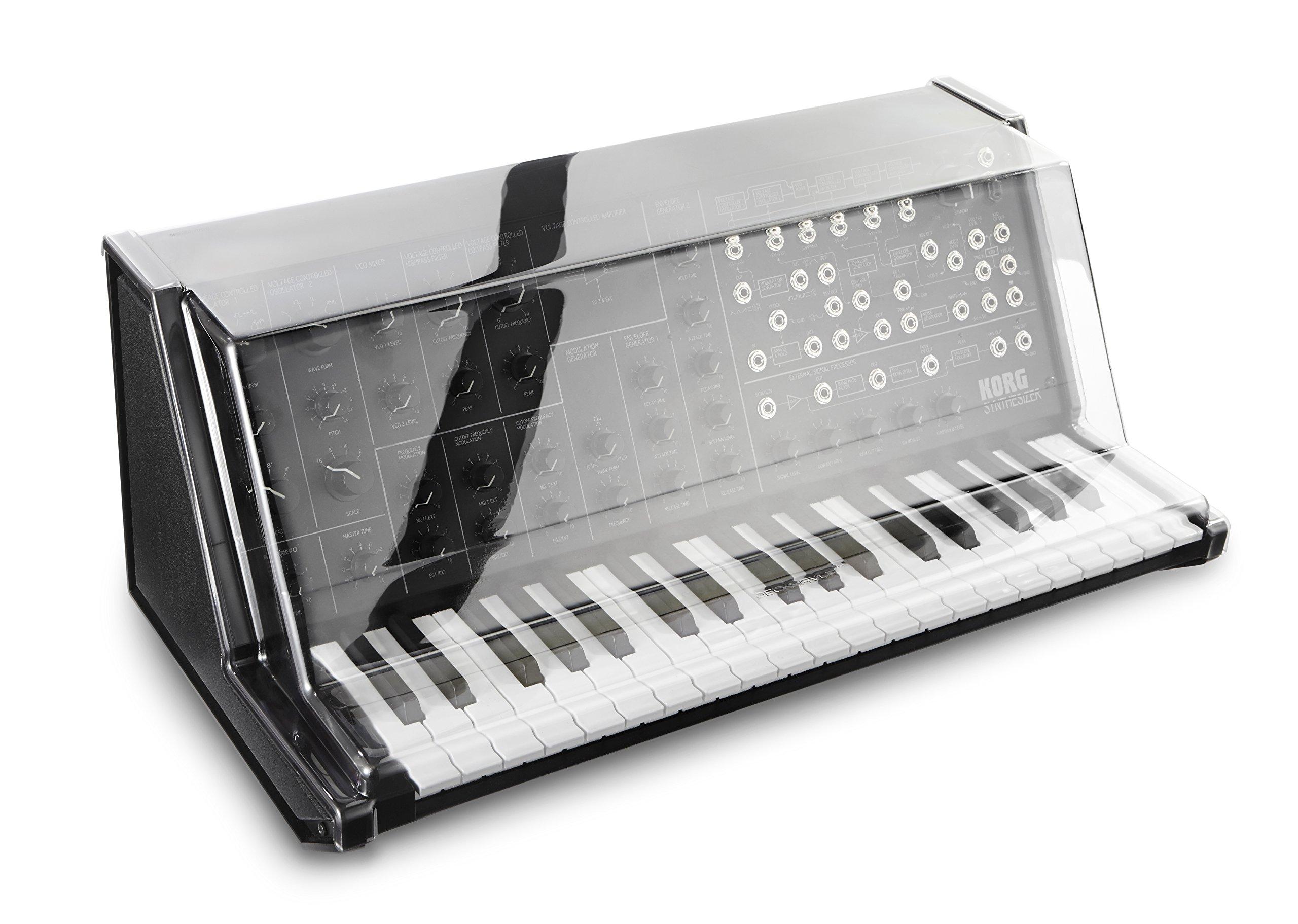 Decksaver Korg MS-20 Mini Impact Resistant Polycarbonate Keyboard Cover