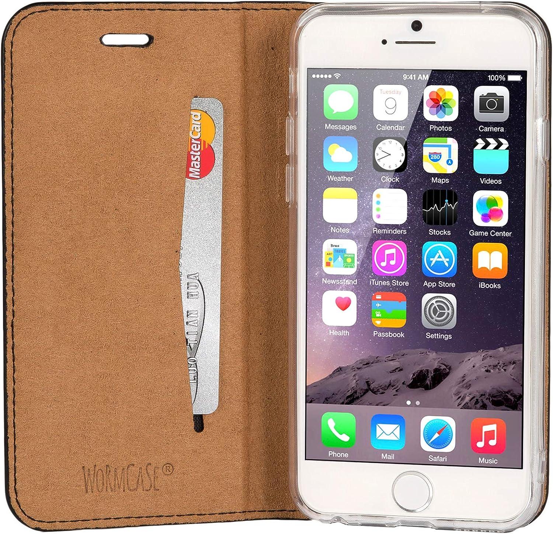 Wormcase Echt Ledertasche Für Apple Iphone 6s Und Elektronik