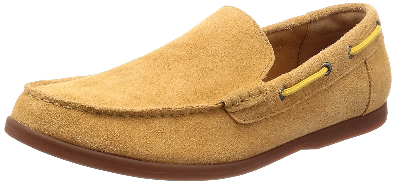 05b24fe61936f0 Clarks Morven Sun Suede Shoes in Light Tan  Amazon.co.uk  Shoes   Bags