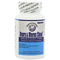Balanceuticals Ovary & Uterus Clean, 500 mg Dietary Supplement Capsules, 60-Count Bottle