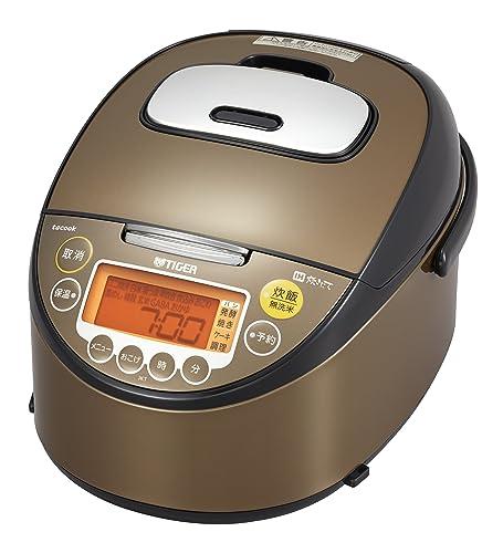 タイガーIH炊飯器5.5合ブラウンレシピ付炊きたて炊飯ジャーJKT-J100-XTTiger