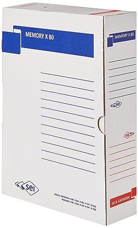 Rota Sei MEMORIA X 80 90 por ciento reciclado cajas de cartón: Amazon.es: Oficina y papelería