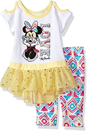 Disney Baby Girls Minnie 2 Piece Legging Set