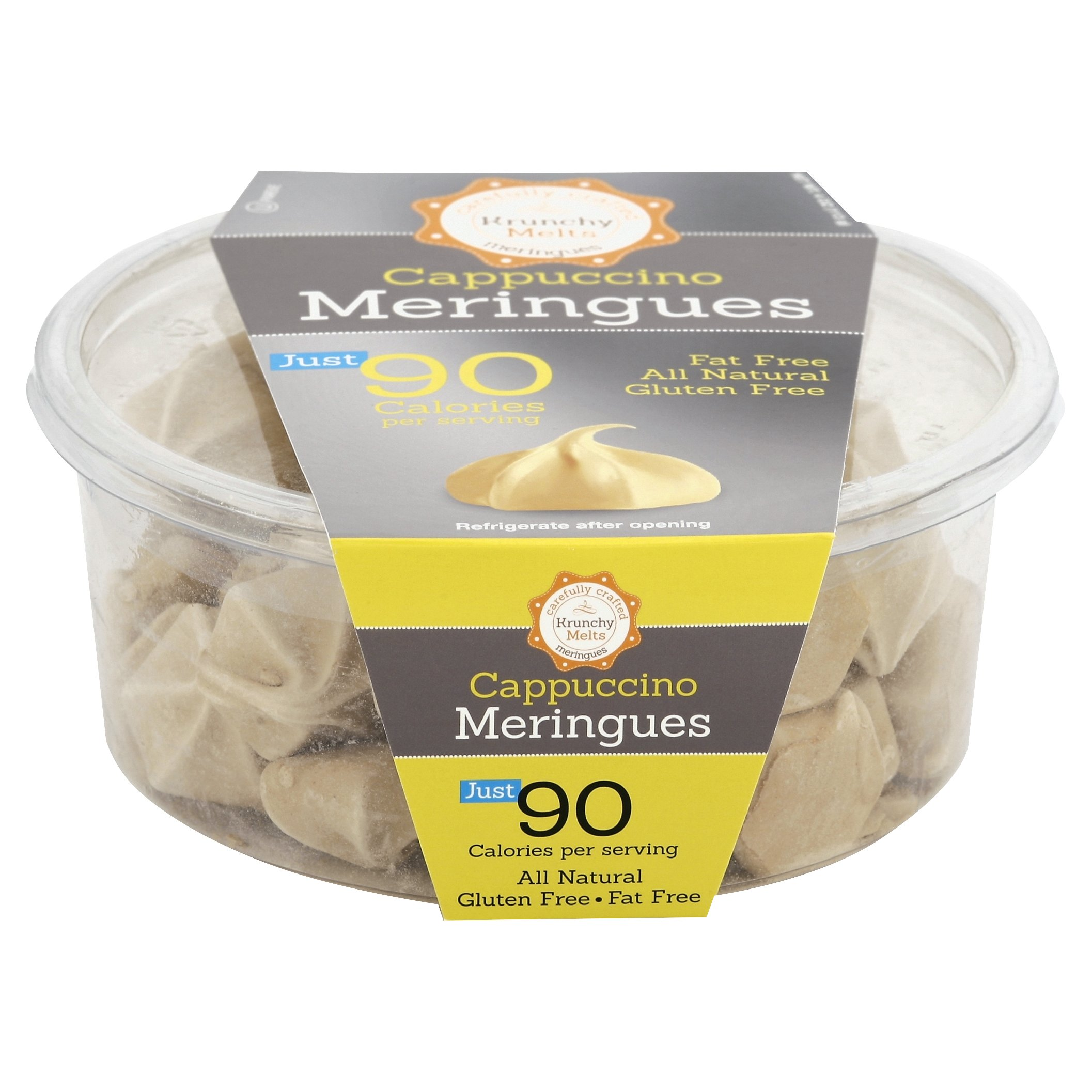 Krunchy Melts Meringue Tub Cappuccino by Krunchy Melts