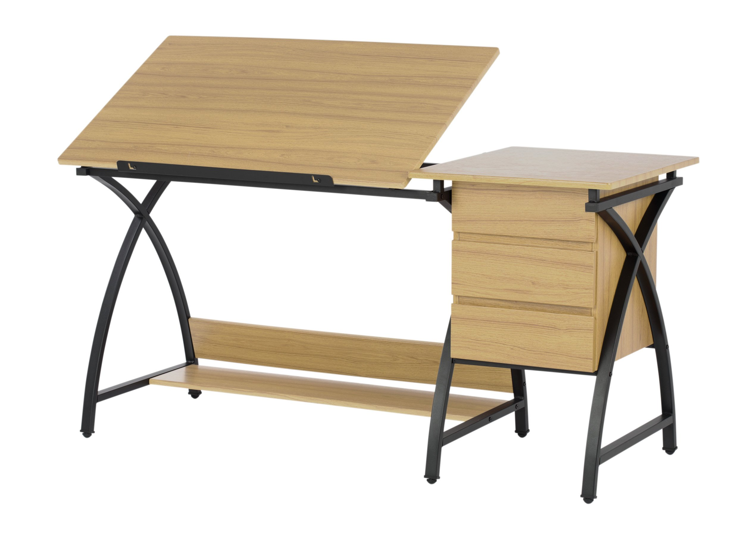 Studio Designs Contemporary Deluxe Comet Craft Center with Stool by Studio Designs