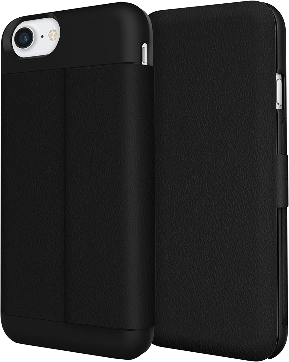 Amazon Com Iphone 7 Case Incipio Wallet Folio Case Credit Card Case Vegan Leather Cover Fits Apple Iphone 7 Black
