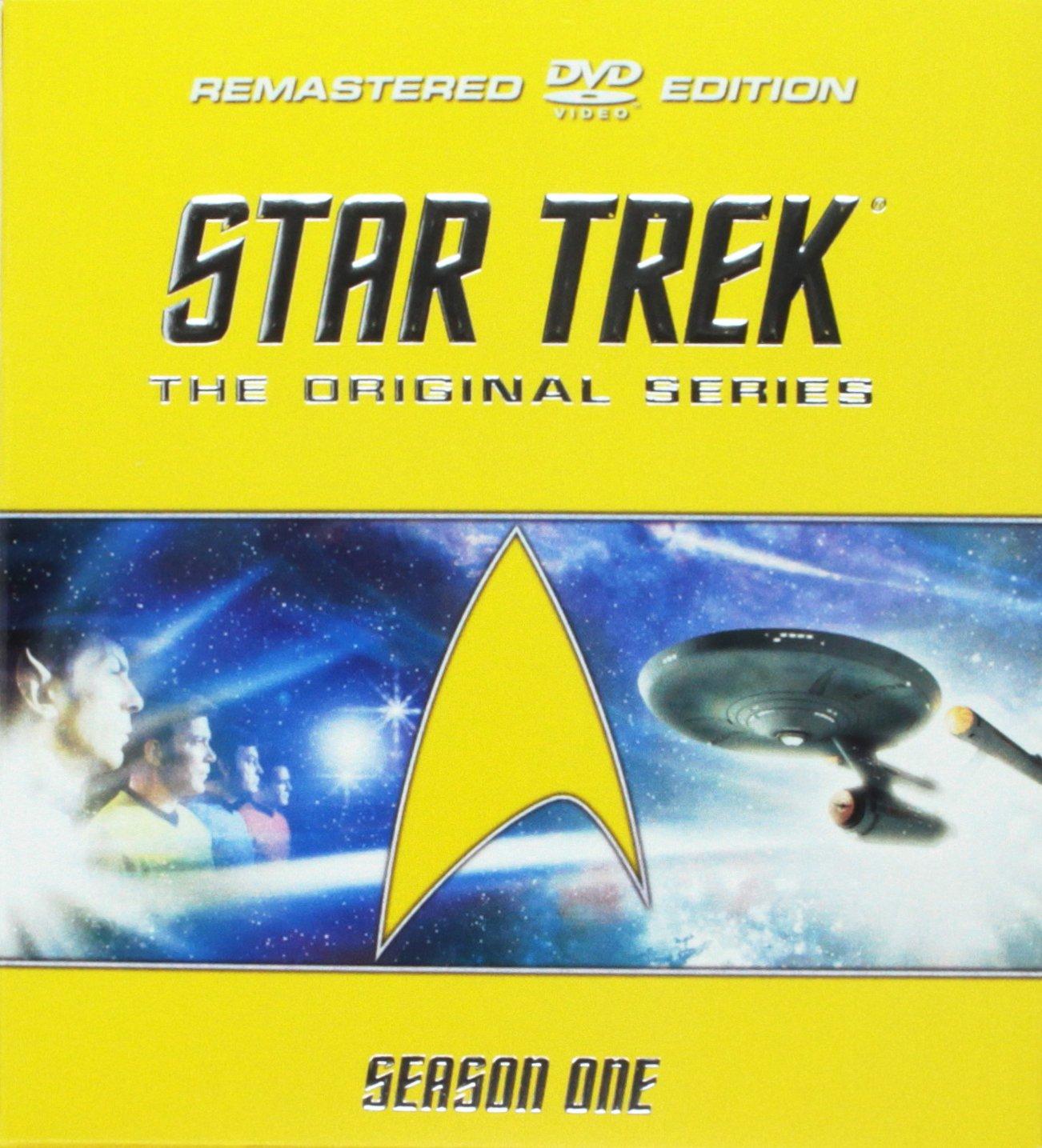 Star Trek: The Original Series - Season 1 (Remastered) DVD