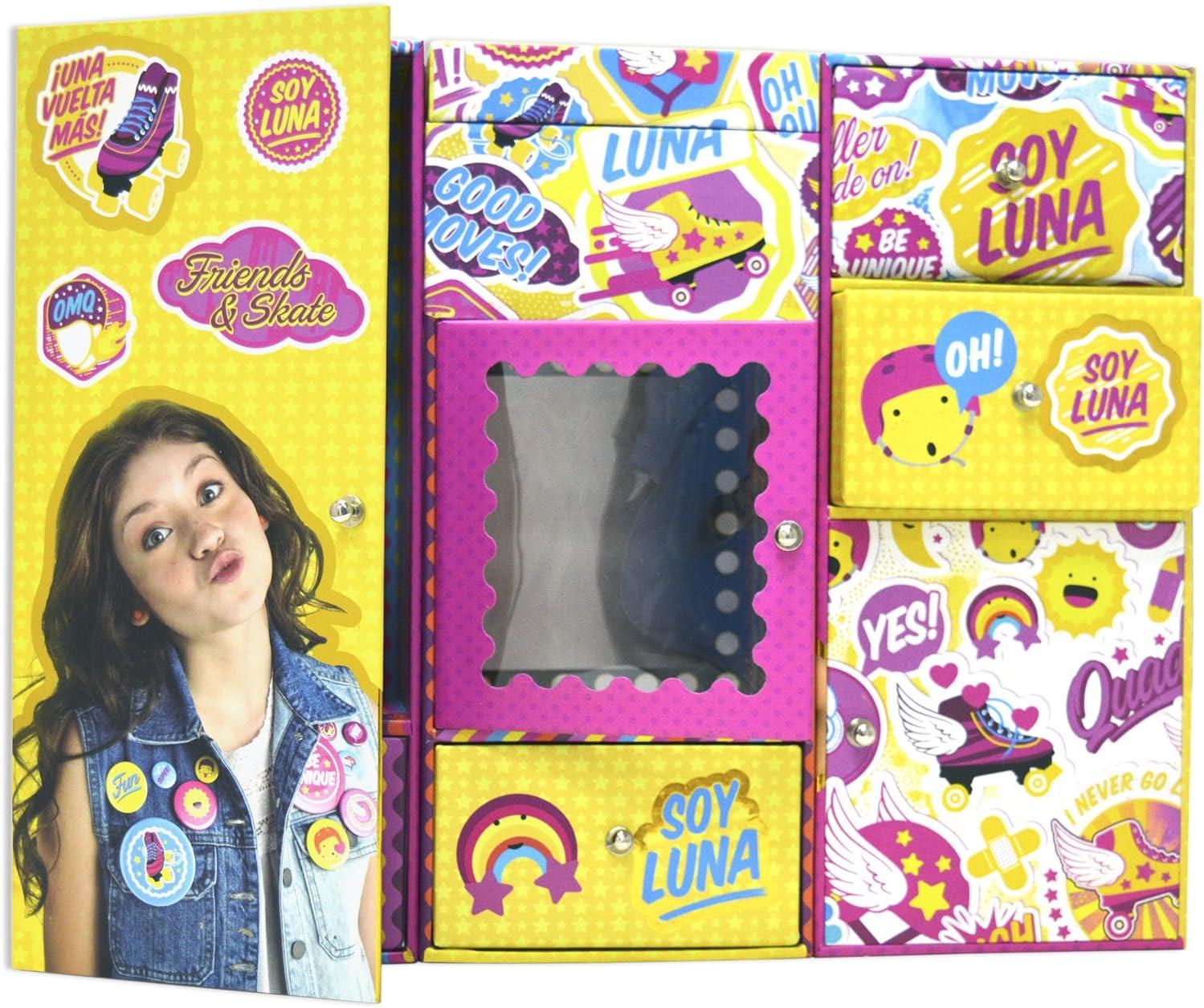 Soy Luna - Taquilla Triple Deluxe (CIFE 40496): Amazon.es: Juguetes y juegos