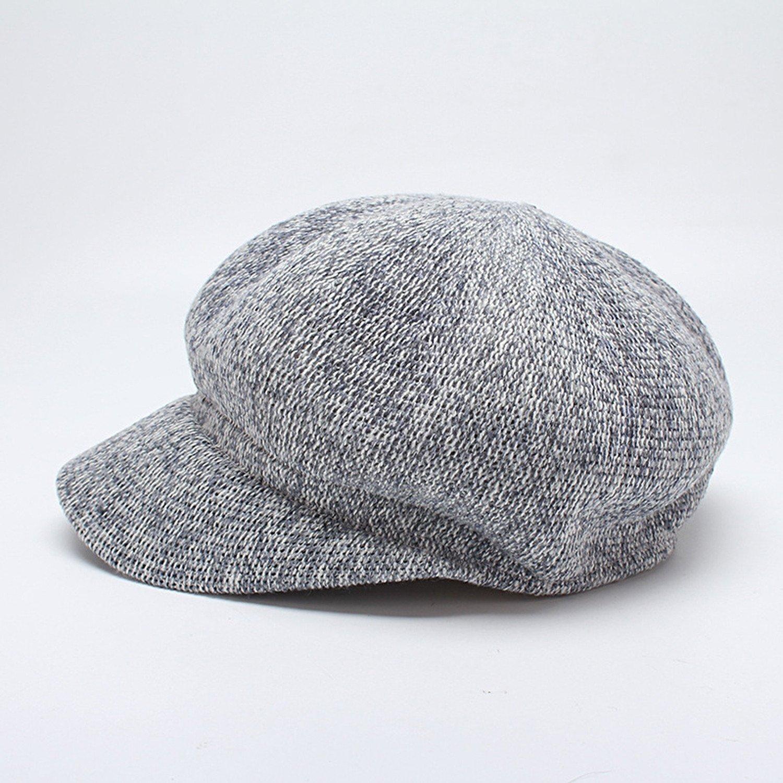 2018 nuevas señoras del otoño octogonal tapa newsboy sombrero de ...