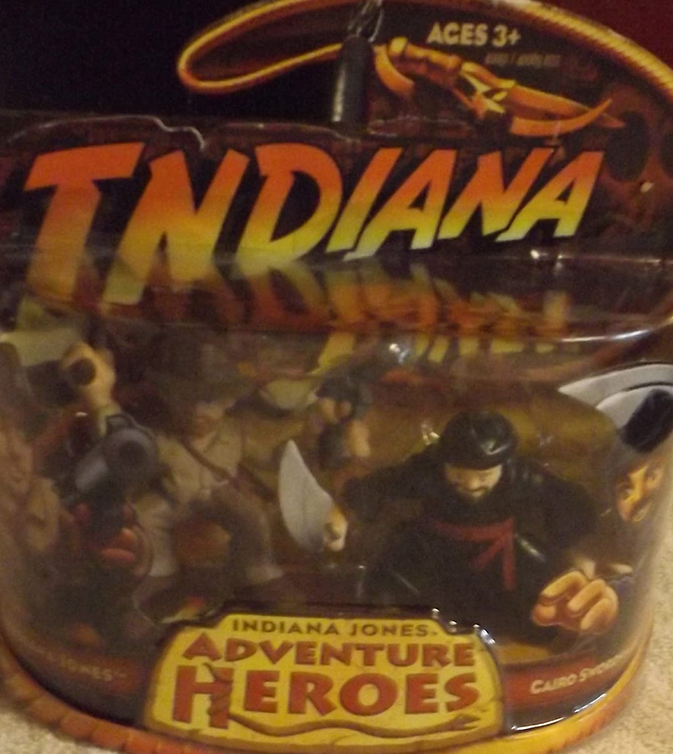 Indiana Jones and amp; Cairo Swordsman Adventure Heroes by: Amazon.es: Juguetes y juegos