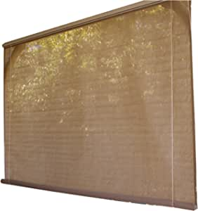 Coolaroo Classic Series All Purpose Bottom Roll Up Window Shade 8' x 6', Southern Sunset