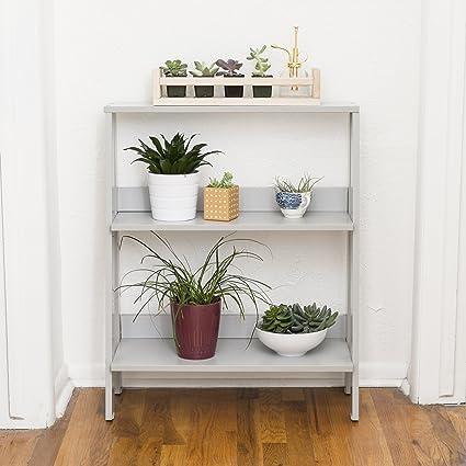 WE Furniture 30quot Wood Ladder Bookshelf