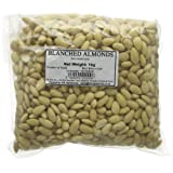 Afropol Whole Blanched Almond from Spain Bag 1 Kg