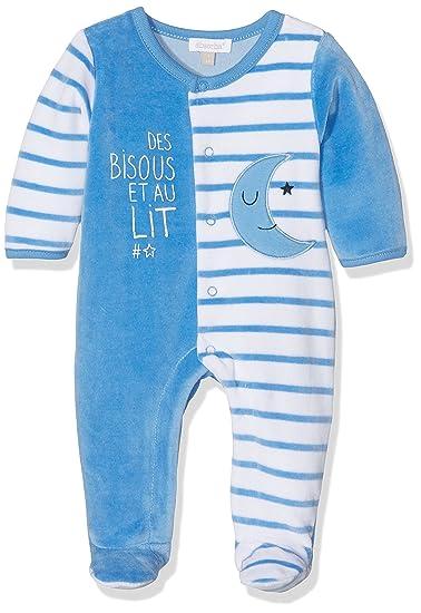 Absorba Nuit Layette, Pelele para Dormir Unisex bebé, Azul (Bleu), 6 Mes: Amazon.es: Ropa y accesorios