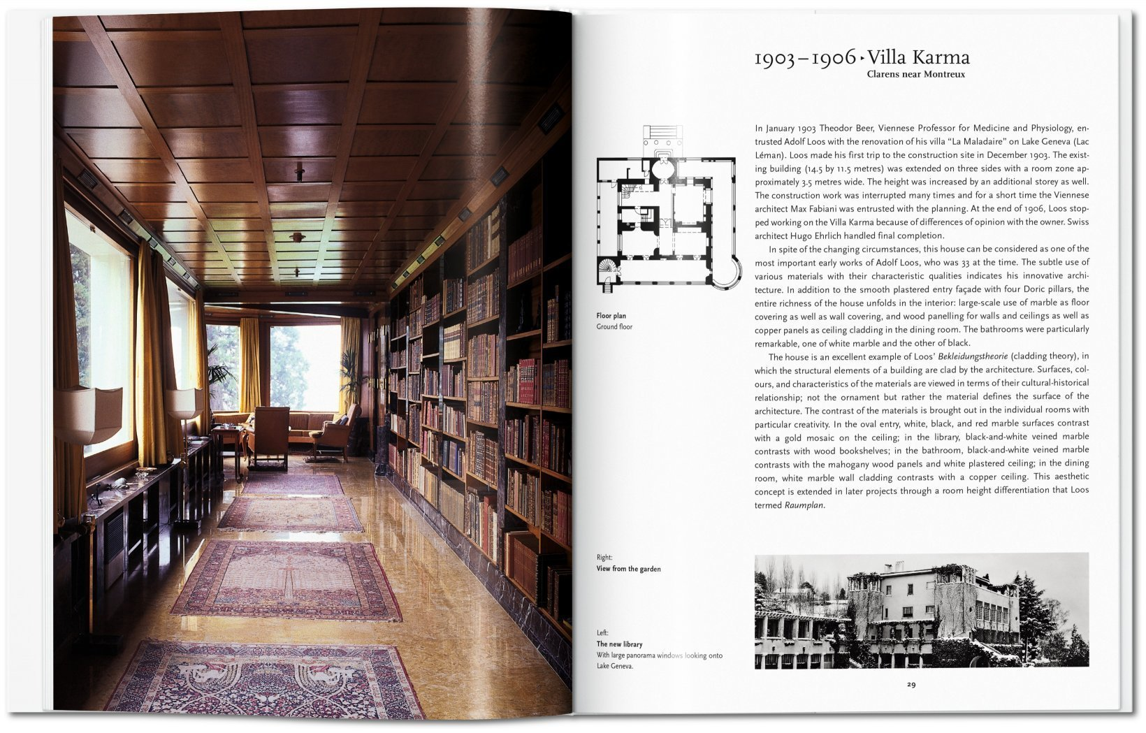 Architecture 1903-1932 Adolf Loos