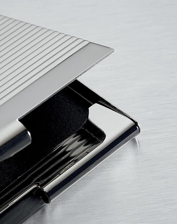 Sigel Vz130 Visitenkarten Etui Silber Glänzend Chrom Weitere Modelle