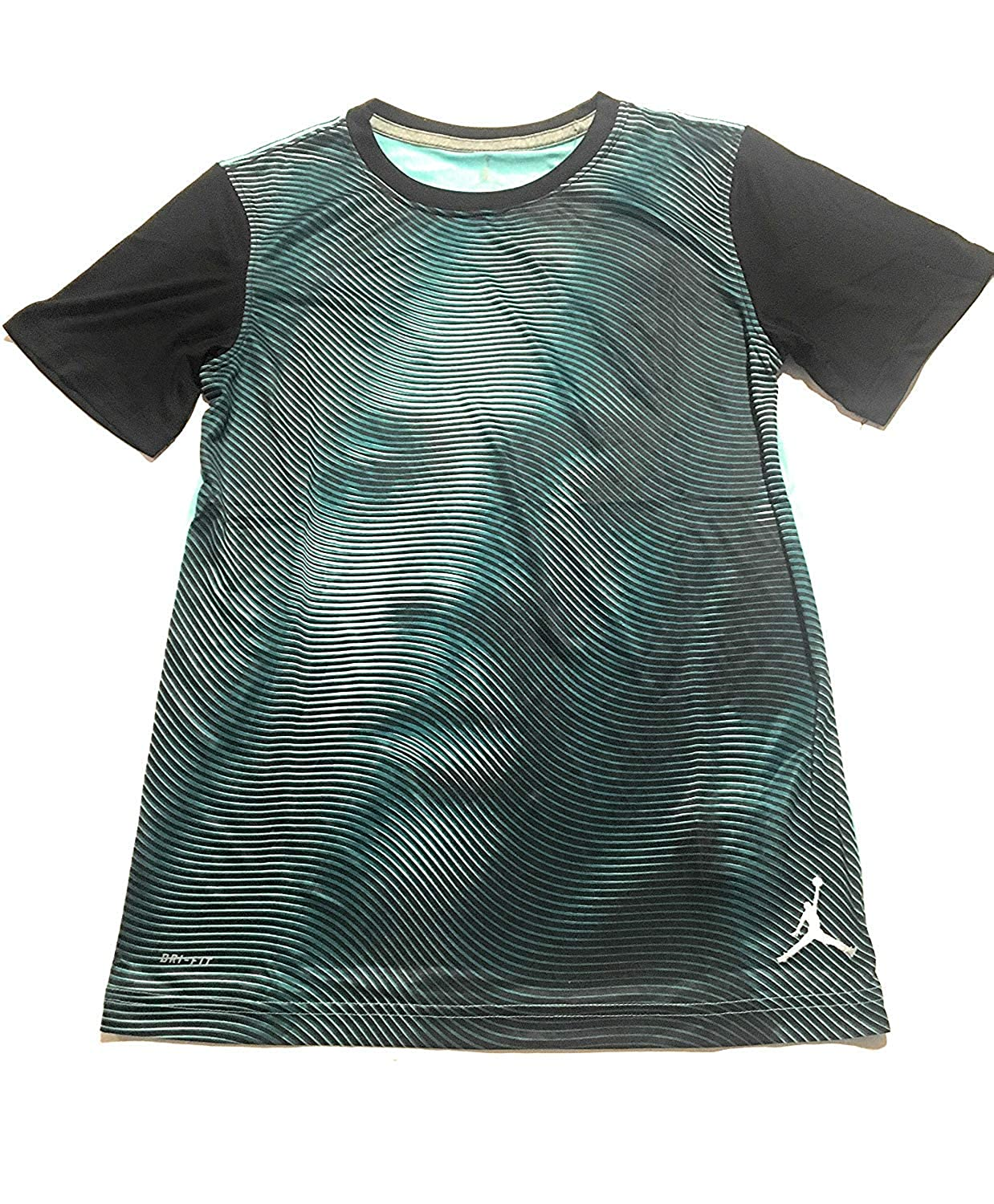 Jordan Jumpman Big Boys Dri-Fit T-Shirt Hyper Turquoise XL 13-15 Years