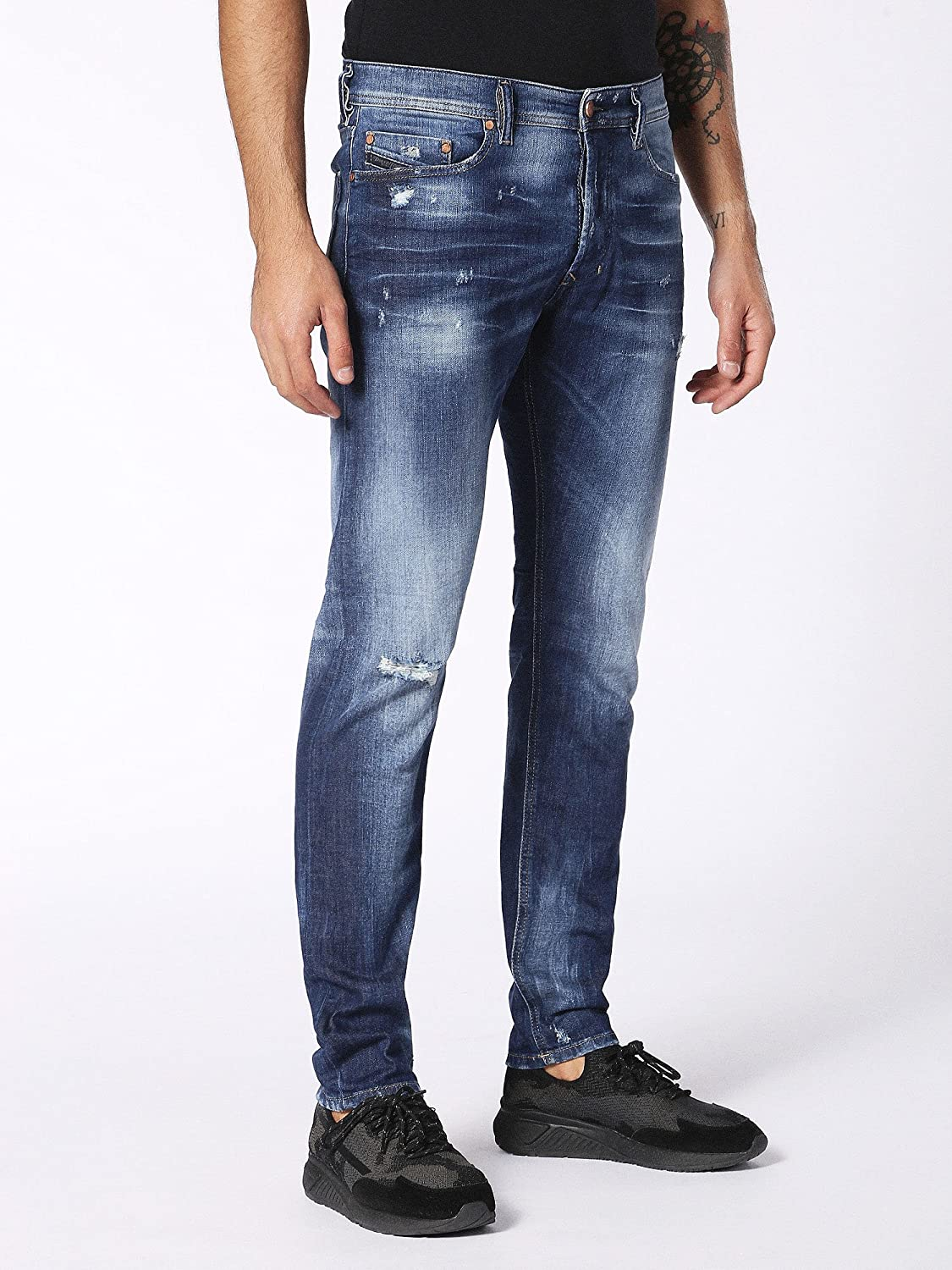 Amazon.com: Diesel Mens Jeans Tepphar Slim Fit Cotton ...