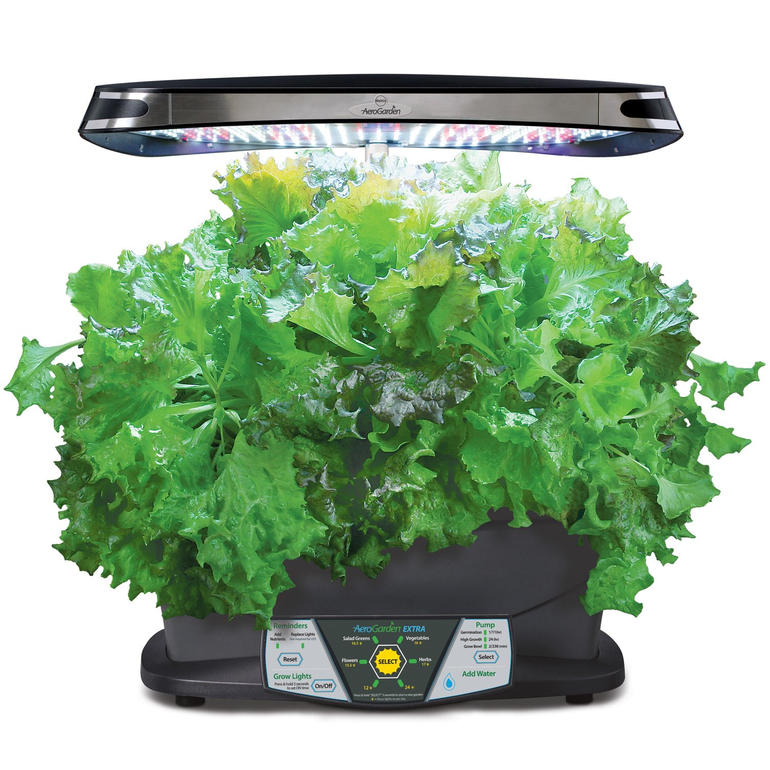 Led Kitchen Garden Amazoncom Miracle Gro Aerogarden Extra Led With Gourmet Herb