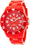ICE-Watch - Montre Mixte - Quartz Analogique - Ice-Solid - Red - Big - Cadran Rouge - Bracelet Plastique Rouge - SD.RD.B.P.12
