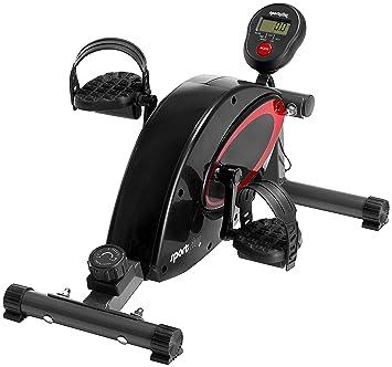 SportPlus Bicicleta Estática, Sistema de Frenado Magnético de Alta Calidad y Silencioso, 8 Niveles