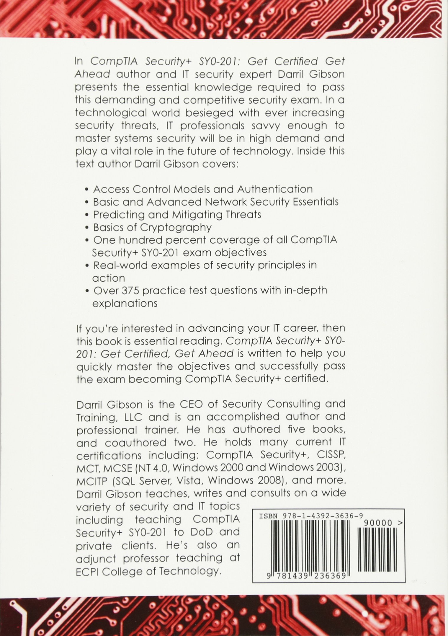 Comptia security get certified get ahead sy0 201 study guide comptia security get certified get ahead sy0 201 study guide darril gibson 9781439236369 amazon books xflitez Choice Image