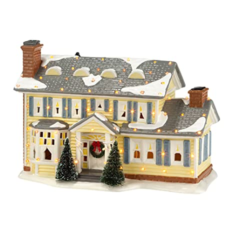 Model In Christmas Vacation.Department 56 National Lampoon Christmas Vacation Griswold Holiday House