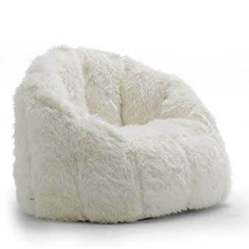 Surprising Big Joe Milano Bean Bag Chair Ivory Creativecarmelina Interior Chair Design Creativecarmelinacom
