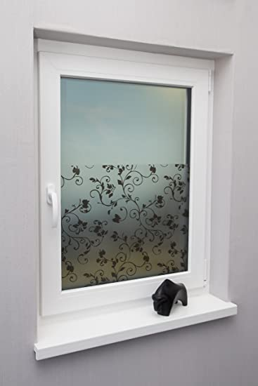 Beyond Drape Fensterfolie Sichtschutzfolie Milchglasfolie 3d Motiv