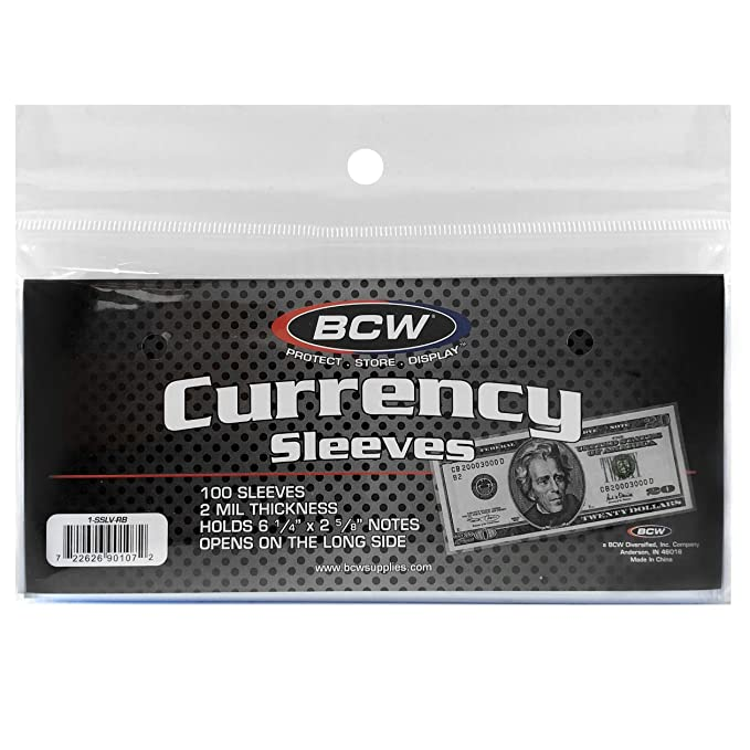 Uncirculated US 100 Dollar Bills Sequential Serial Numbers Stored In Sleeves!