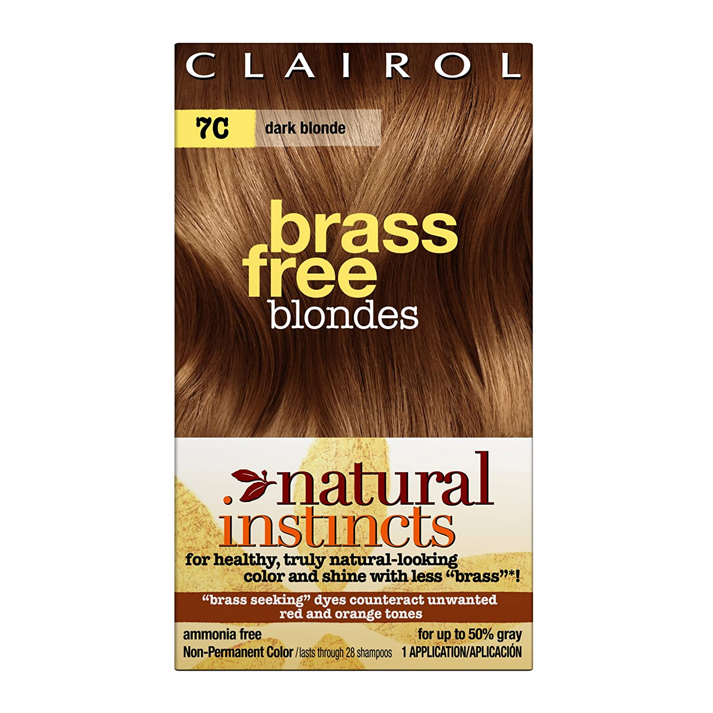 Amazon Clairol Natural Instincts Color 7c Brass Free Dark