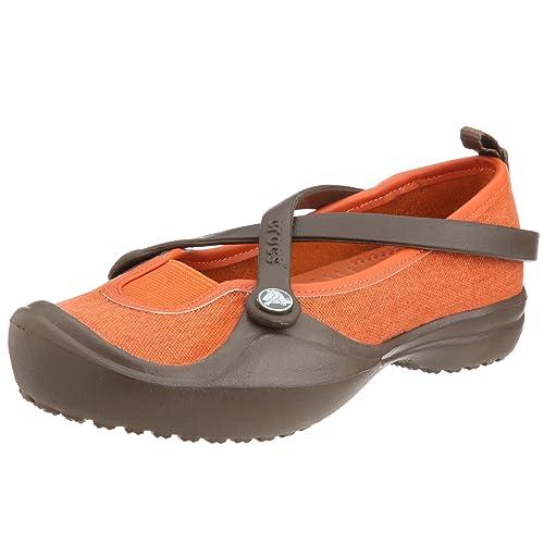 Crocs Celeste Canvas - Zapatillas para Mujer Bailarina Mujer Guantes: Amazon.es: Zapatos y complementos