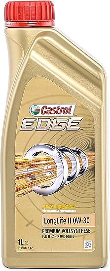 Castrol Edge Longlife Ii Engine Oil 0w 30 1l German Label Auto
