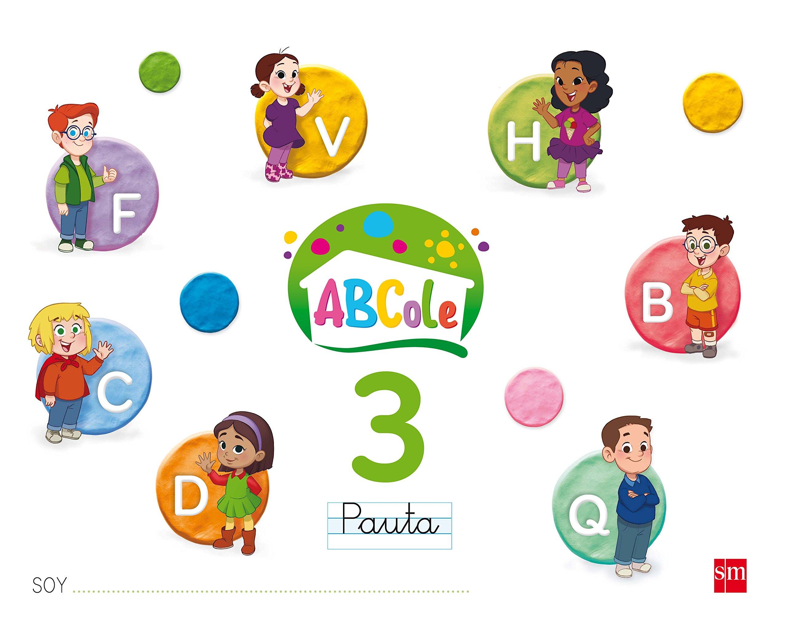 Cuaderno de lectoescritura 3, Pauta. ABCole 17