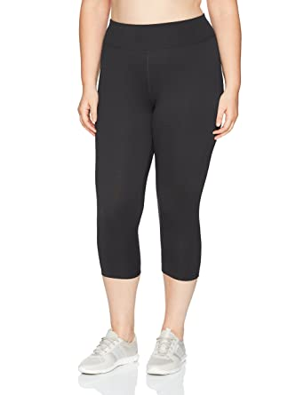 236bf081d89 Just My Size Women s Plus Size Active Stretch Capri at Amazon Women s  Clothing store