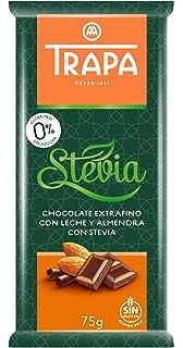 Trapa Intenso Leche con Almendras Enteras 175 g: Amazon.es: Alimentación y bebidas