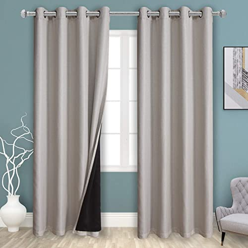 BONZER 2 Layers 100 Blackout Curtains