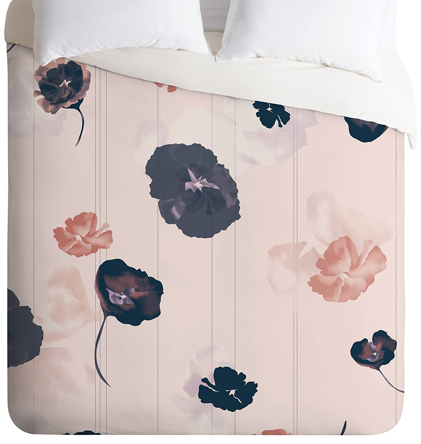 Deny Designs Khristian A Howell Mademoiselle In Pink Duvet Cover, Queen